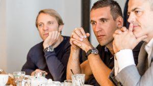 Boyan Neytchev, Michal Zamec and Philippe Riboton