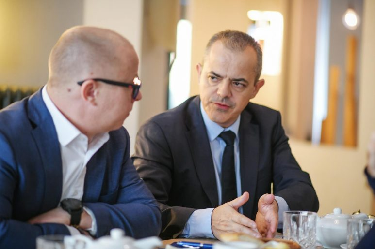 Ladislav Kucera and Philippe Riboton