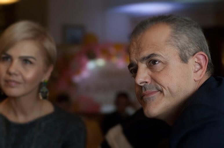 Sonia Nastase and Philippe Riboton